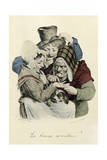 The Fortune Teller, 1824 Giclee Print by Louis Leopold Boilly