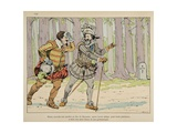 Henry IV Forgives the Duke of Mayenne Giclee Print by Jacques de Breville