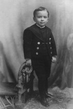 J. Edgar Hoover at Age 4, in 1899. the Future Fbi Director Was Born in 1895 in Washington, D.C. Photo