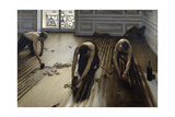 The Floor Planers. 1875 Giclee Print by Gustave Caillebotte