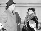 Al Capone's Mother Teresa, and Brother Ralph Photographed in Federal Prison at Terminal Island Photo