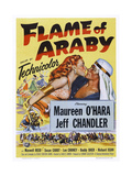 Flame of Araby Giclee Print