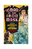 The Man in the Iron Mask Giclee Print