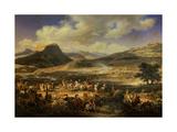 Battle of Mount Thabor, April 16, 1799 Giclee Print by Louis Francois Lejeune