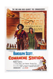 Comanche Station Giclee Print
