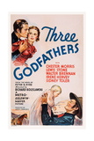 Three Godfathers Giclee Print