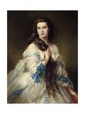 Portrait of Mrs. Rimsky Korsakov, 1864 Giclee Print by Franz Xaver Winterhalter