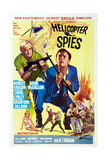 The Helicopter Spies Giclee Print