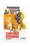 Captain Sindbad Giclee Print