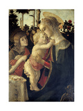 Madonna and Child with St. John the Baptist, 1468 Giclee Print by Sandro Botticelli