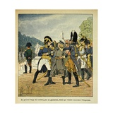 Gen. Rapp Orders the Arrest Young Stabs, Who Planned to Assassinate Napoleon Giclee Print by Louis Bombled