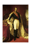 Full Length Portrait of Napoleon Iii, Emperor of the French, 1853 Giclee Print by Franz Xaver Winterhalter