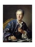 Portrait of Denis Diderot, 1767 Giclée-Druck von Louis Michel Van Loo