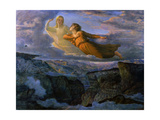 The Poem of the Soul, the Ideal, 19th C Giclee Print by Anne Louis Francois Janmot