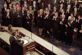 President George W. Bush Speaks to a Joint Session of Congress About the 9-11 Terrorist Attacks Photo