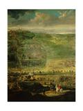 Battle of Castelnaudary, Sept. 1, 1632. Schomberg Victories over Gaston D'Orleans and Duke Henri II Giclee Print