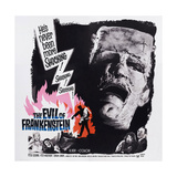 The Evil of Frankenstein Giclee Print