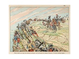 Henry IV at War, Encamped around Dieppe with His Artillery Giclee Print by Jacques de Breville