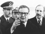 Chile's President Salvador Allende in New York to Address the United Nations, Dec, 3, 1972 Photo