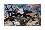War, or the Ride of Discord. 1894 Giclee Print by Henri Rousseau