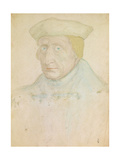 Guillaume Bude, French Renaissance Classical Scholar. 1535 Giclee Print by Jean Clouet