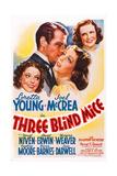 Three Blind Mice Giclee Print