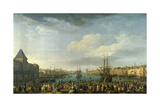 Xxxx French Painting Giclee Print by Joseph Vernet