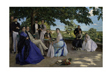 Family Reunion, 1867 Giclee Print by Frederic Bazille