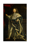 French King Louis XIV in Royal Robes at Age 10 in 1657 Giclee Print by Henri Testelin