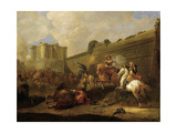 Episode of the Fronde by the Walls of the Bastille, 1648 Giclee Print