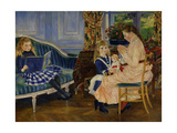 Children's Afternoon at Wargemont, 1884 Giclee Print by Pierre Auguste Renoir