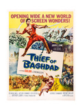 The Thief of Baghdad Giclee Print
