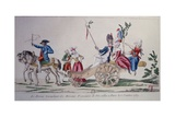 Return of the Heroines of Versailles to Paris, Oct. 6, 1789, at Beginning of French Revolution Giclee Print