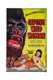Captive Wild Woman Giclee Print