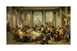 Romans of the Decadence, 1847 Giclee Print by Thomas Couture