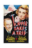 Topper Takes a Trip Giclee Print