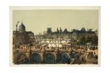 Pont Neuf, Paris 1874 Giclee Print