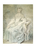 Olympe De Gouges (1748-1793), French Playwright and Political Activist Guillotined in 1793 Giclee Print