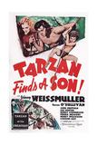 Tarzan Finds a Son! Giclee Print
