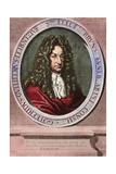 Gottfried Wilhelm Leibniz, German Philosopher and Mathematician, Ca. 1710 Giclee Print