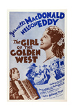 The Girl of the Golden West Giclee Print