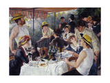 Luncheon of the Boating Party, 1880-81 Giclée-tryk af Pierre Auguste Renoir