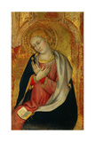 Virgin of the Annunciation, 1400-1405 Giclee Print by Taddeo di Bartolo
