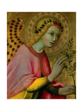 Angel of the Annunciation, Ca. 1425-50 Giclee Print by  Sano di Pietro