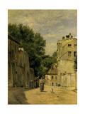 Montmartre, Rue Saint-Vincent Giclee Print by Stanislas Lepine