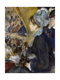 At the Theatre (The First Outing), 1876 Giclee Print by Pierre Auguste Renoir