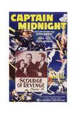 Captain Midnight Giclee Print