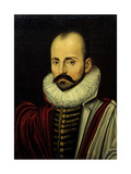 Michel Eyquem De Montaigne, Ca. 1570, French Giclee Print