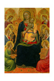 Madonna and Child with Eight Angels Giclee Print by Tommaso Del Mazza