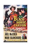Black Horse Canyon Giclée-tryk